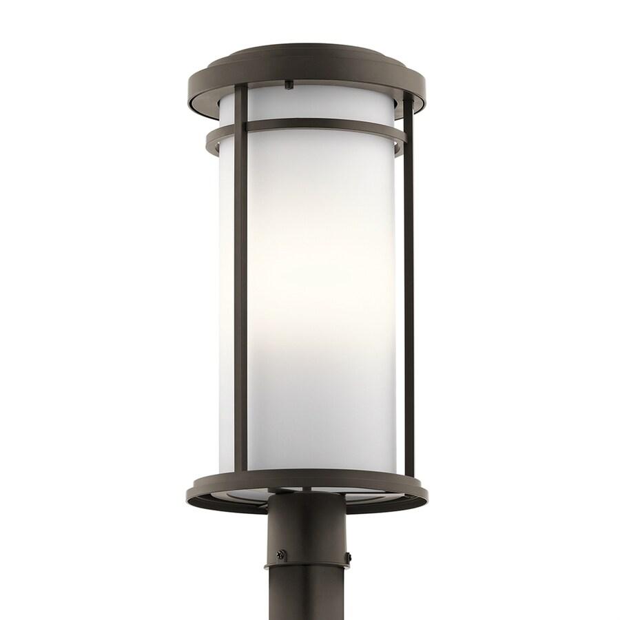 Kichler Lighting Toman 22-in H Olde Bronze Post Light