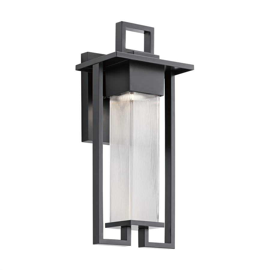 Kichler Chlebo 21.25-in H Black Outdoor Wall Light