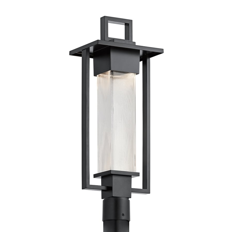 Kichler Lighting Chlebo 24.75-in H Black Post Light
