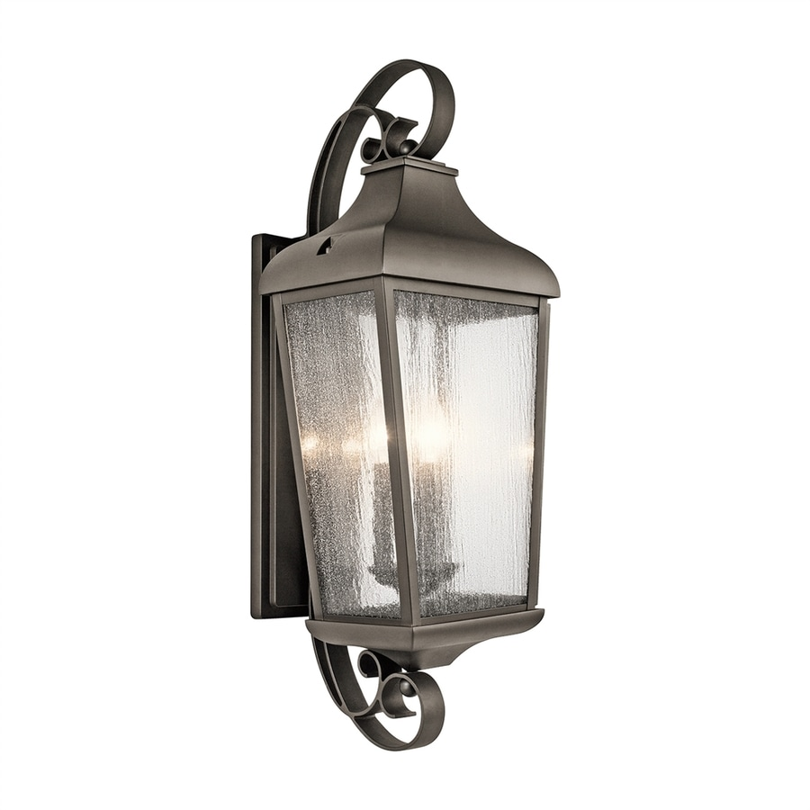 Kichler Forestdale 30.75-in H Olde Bronze Outdoor Wall Light