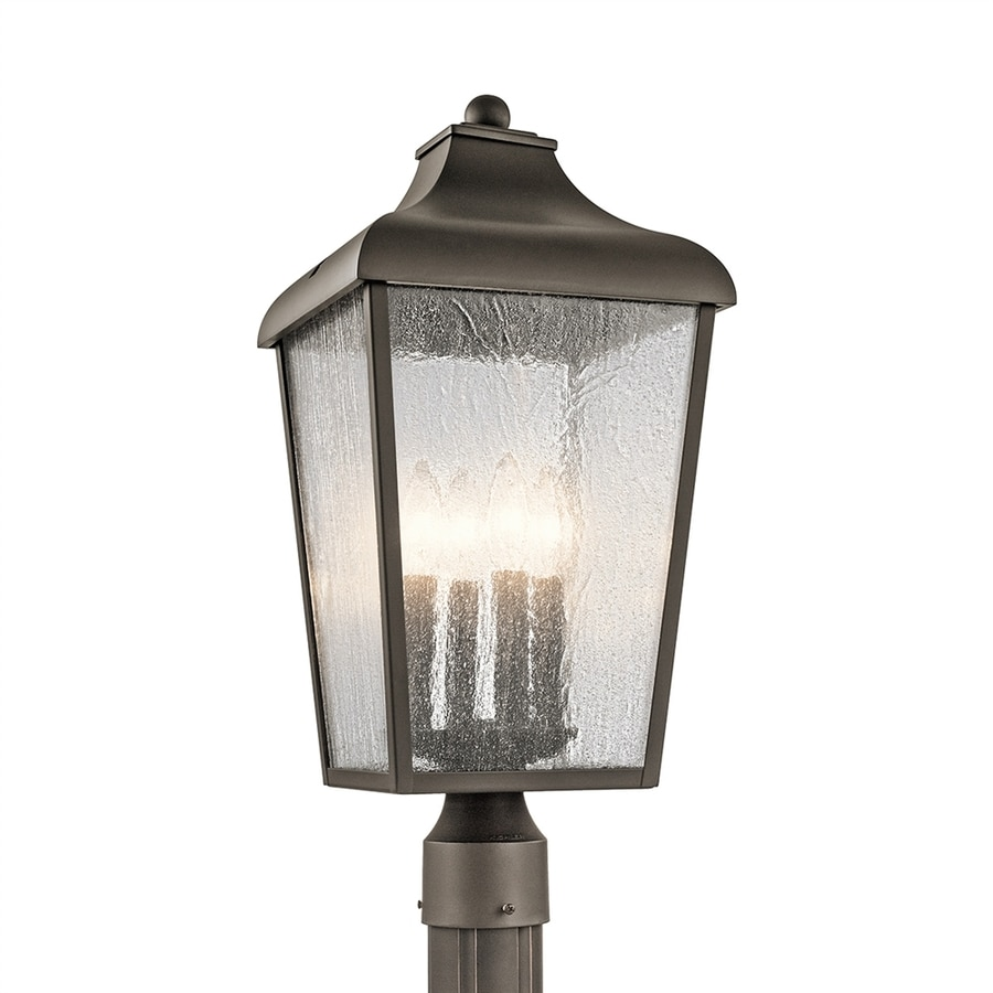 Kichler Forestdale 21.75-in H Olde Bronze Post Light