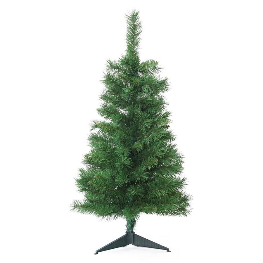 Jeco 3-ft Slim Unlit Tacoma Pine Artificial Christmas Tree