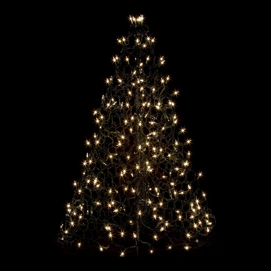 Crab Pot Trees 2-ft 11-in Pre-Lit Artificial Christmas Tree with Clear White Incandescent Lights