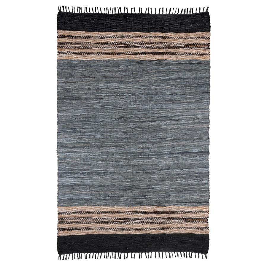 ST CROIX TRADING Matador Gray Rectangular Indoor Woven Southwestern Area Rug (Common: 8 x 10; Actual: 8-ft W x 10-ft L)