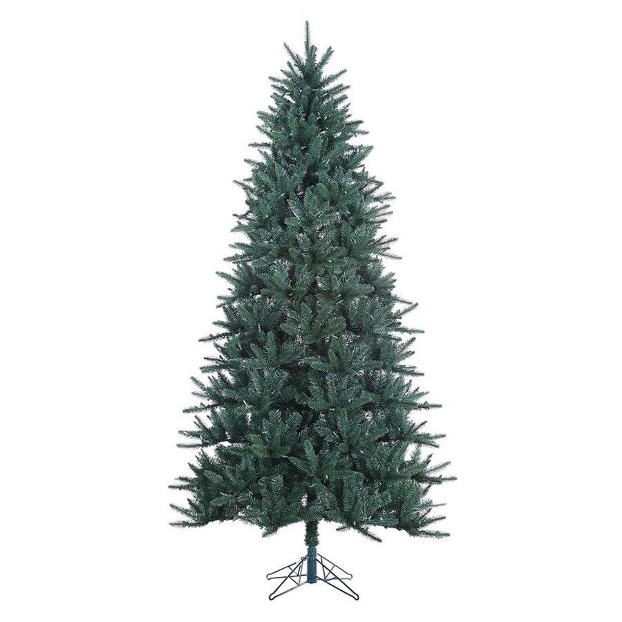 Vickerman 7.5-ft Unlit Baldwin Spruce  Artificial Christmas Tree