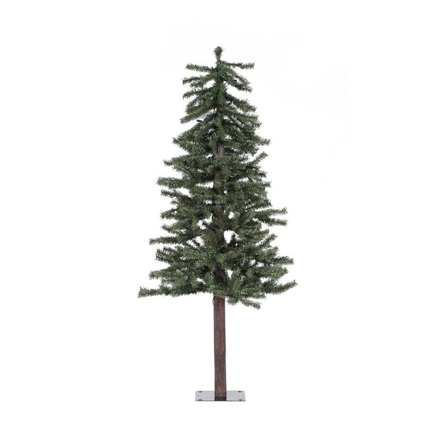Vickerman 4-ft Alpine Slim Artificial Christmas Tree