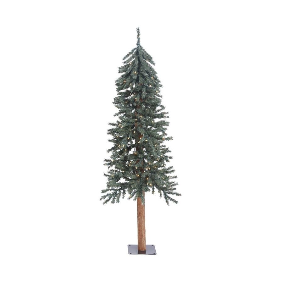Thin Artificial Christmas Trees