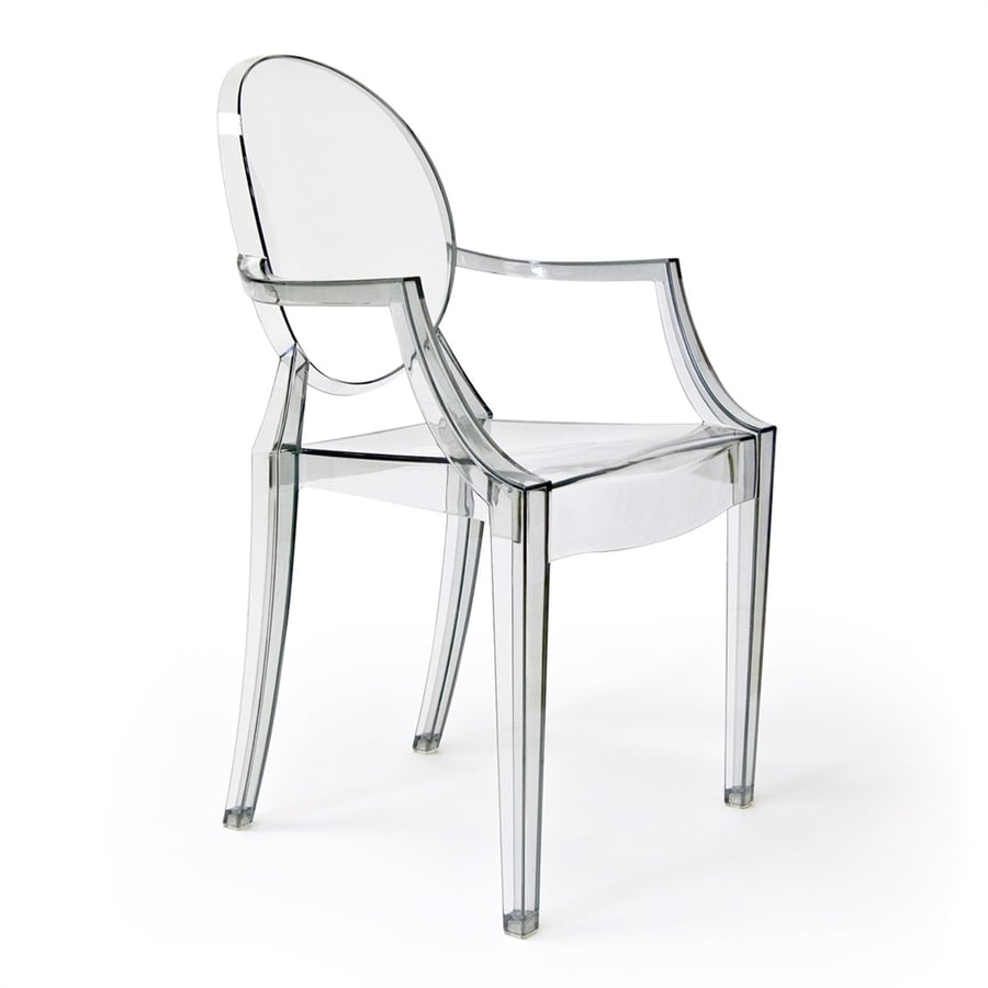 AEON Furniture Specter Modern Clear Plastic Accent Chair  sc 1 st  Loweu0027s & Shop AEON Furniture Specter Modern Clear Plastic Accent Chair at ...