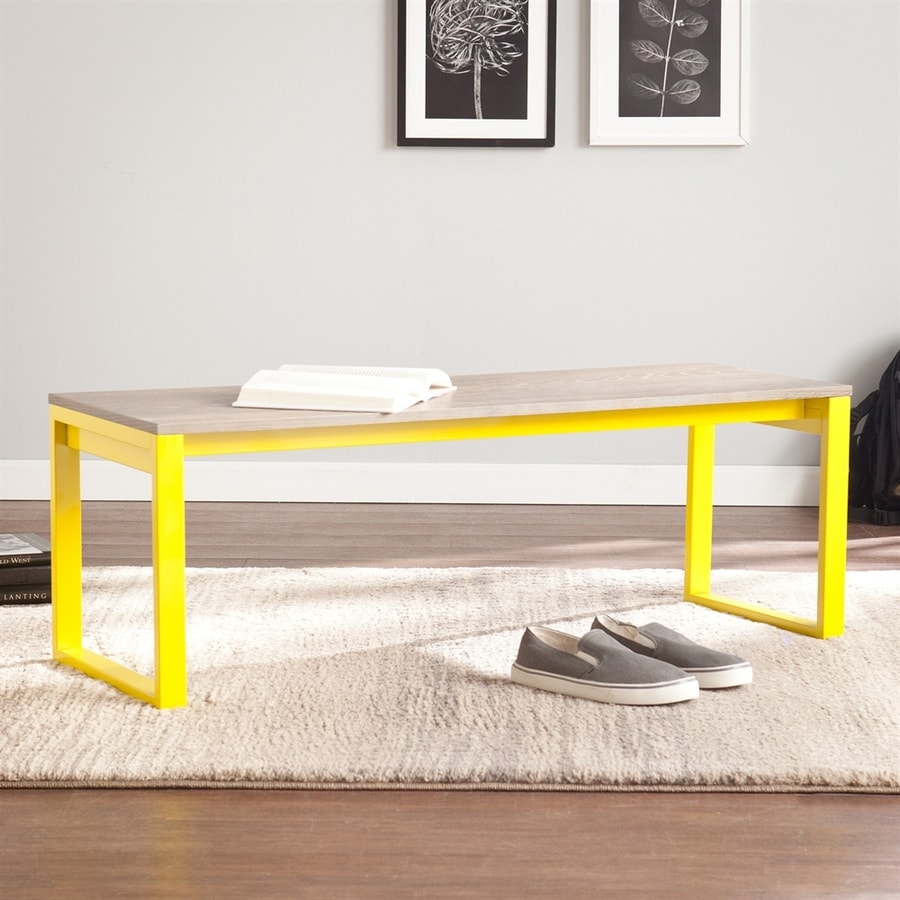 Holly & Martin Beckett Citrine Indoor Accent Bench