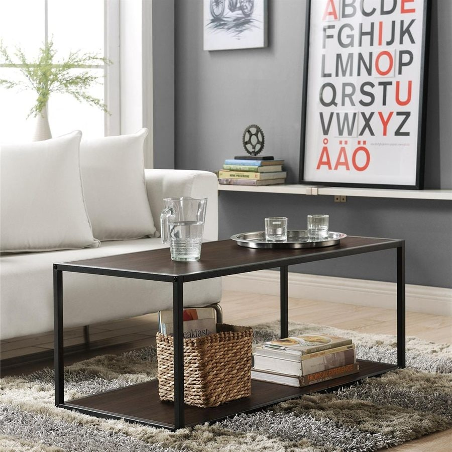 Altra Furniture Espresso Rectangular Coffee Table