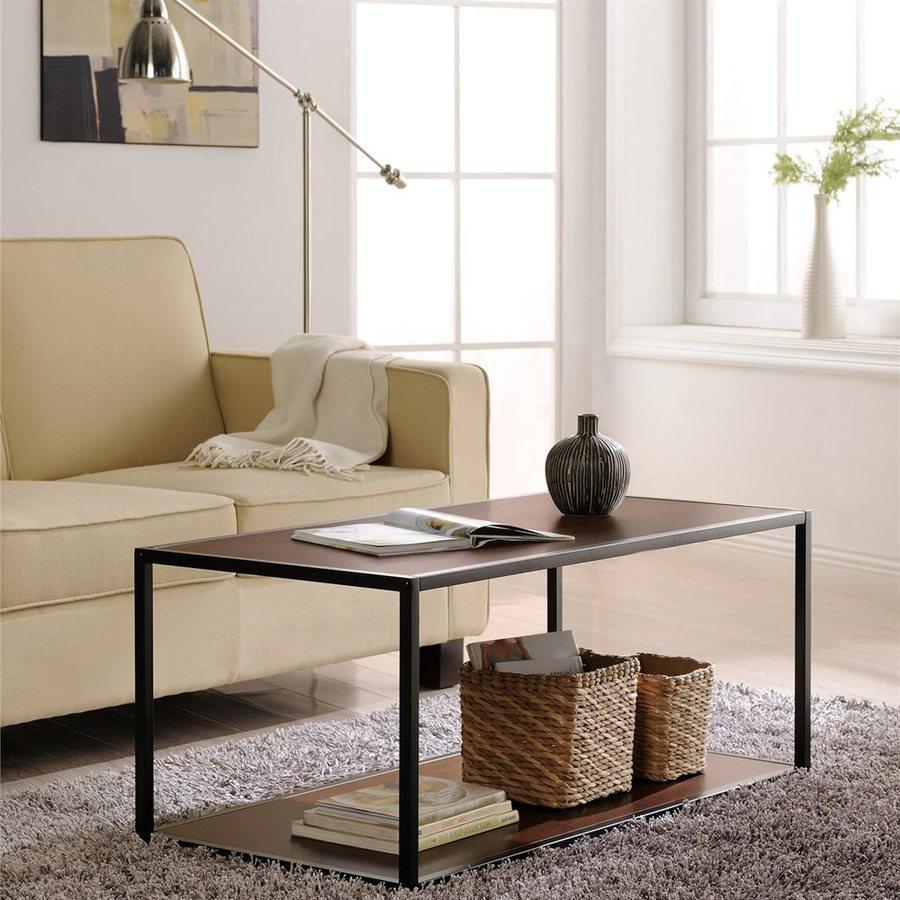 Altra Furniture Cherry Rectangular Coffee Table
