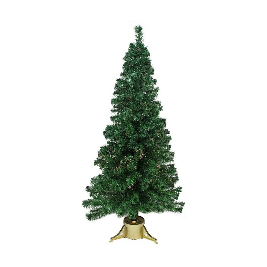 Shop Northlight 6-ft Pre-lit Artificial Christmas Tree with Color ...