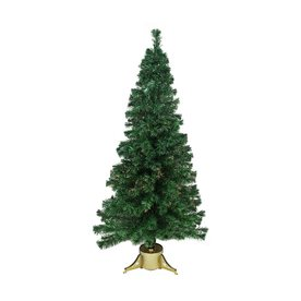 b60c8541489a Northlight 6-ft Pre-lit Artificial Christmas Tree with 70 Color Changing Multicolor  Incandescent