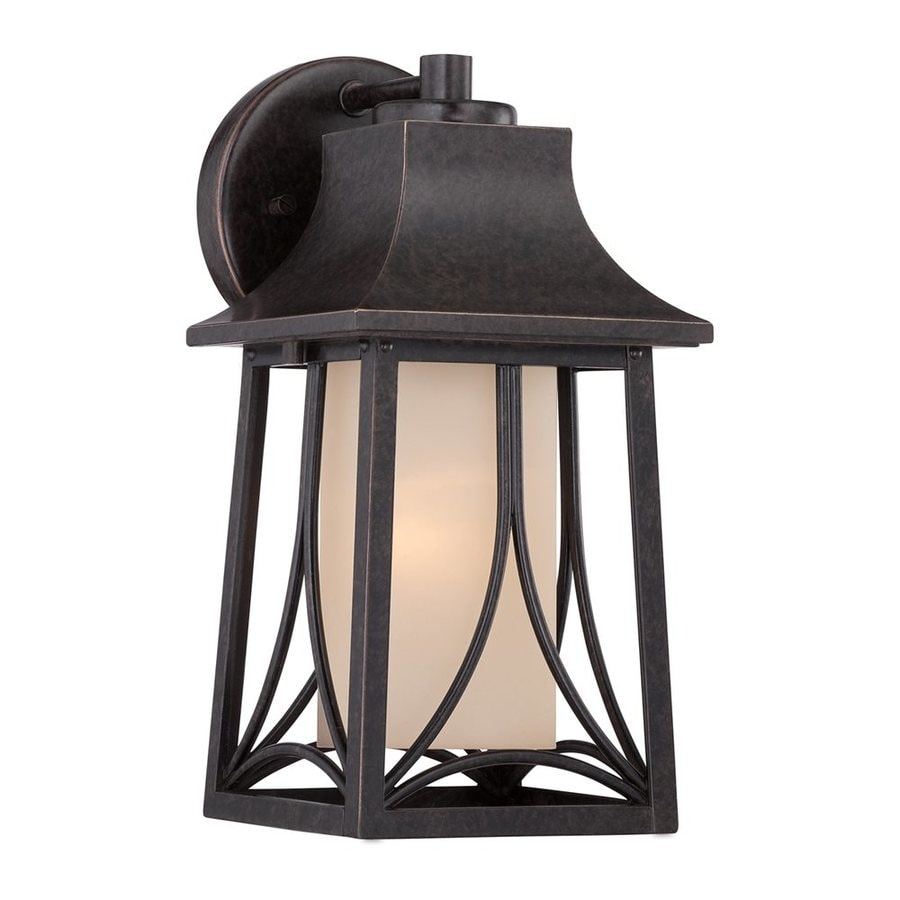 Quoizel Hunter 11.5-in H Imperial Bronze Outdoor Wall Light