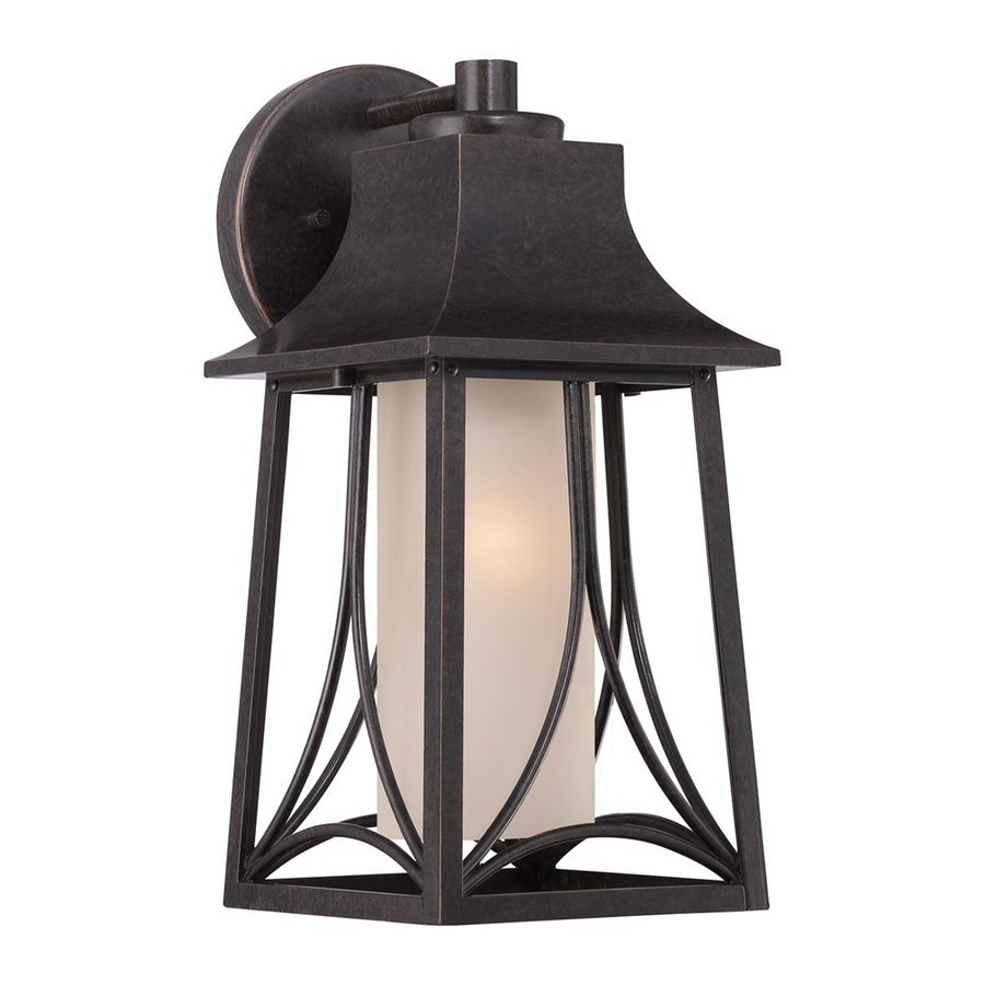 Quoizel Hunter 15-in H Imperial Bronze Outdoor Wall Light
