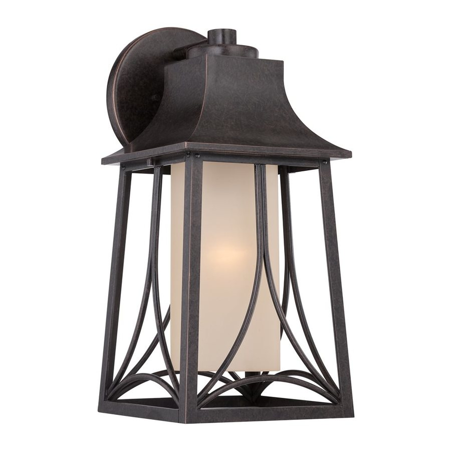 Quoizel Hunter 18.5-in H Imperial Bronze Outdoor Wall Light