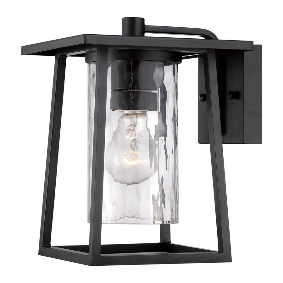 Quoizel Lodge 10.5-in H Mystic Black Outdoor Wall Light