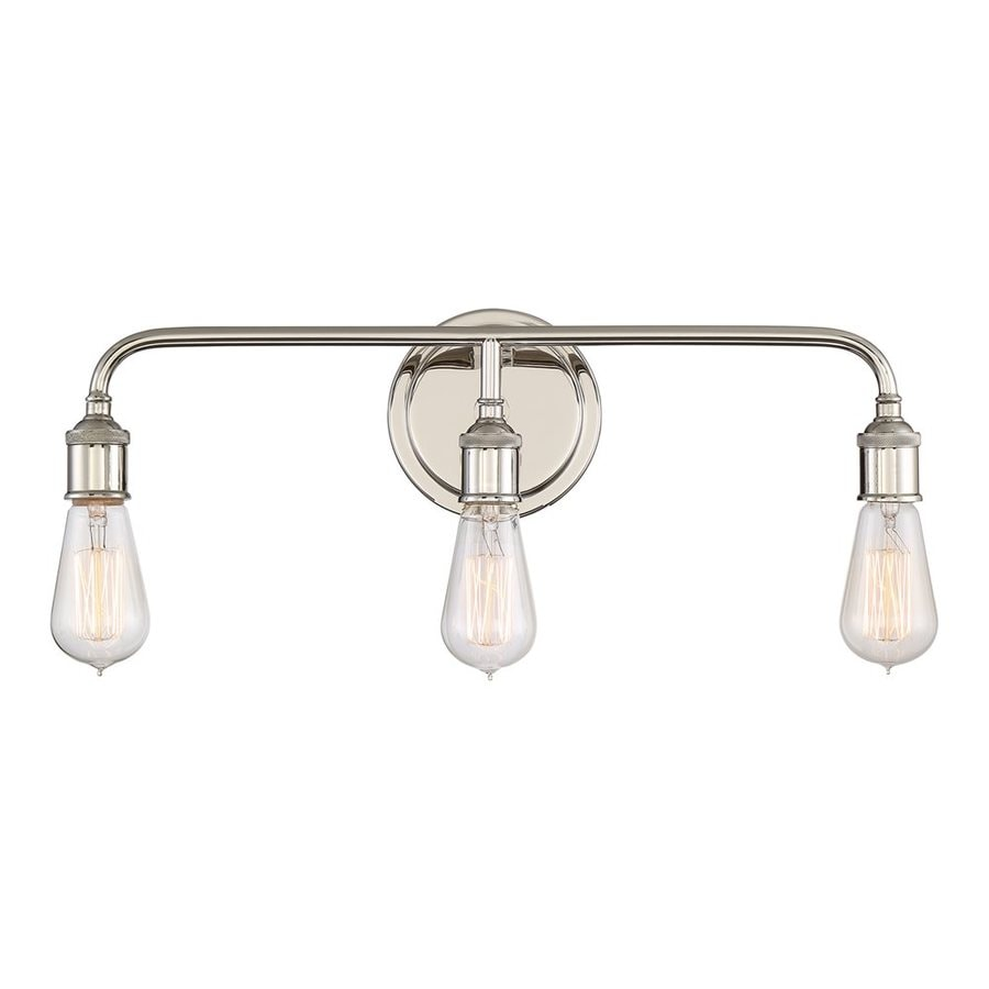 Quoizel Menlo 3-Light 8.75-in Imperial Silver Vanity Light
