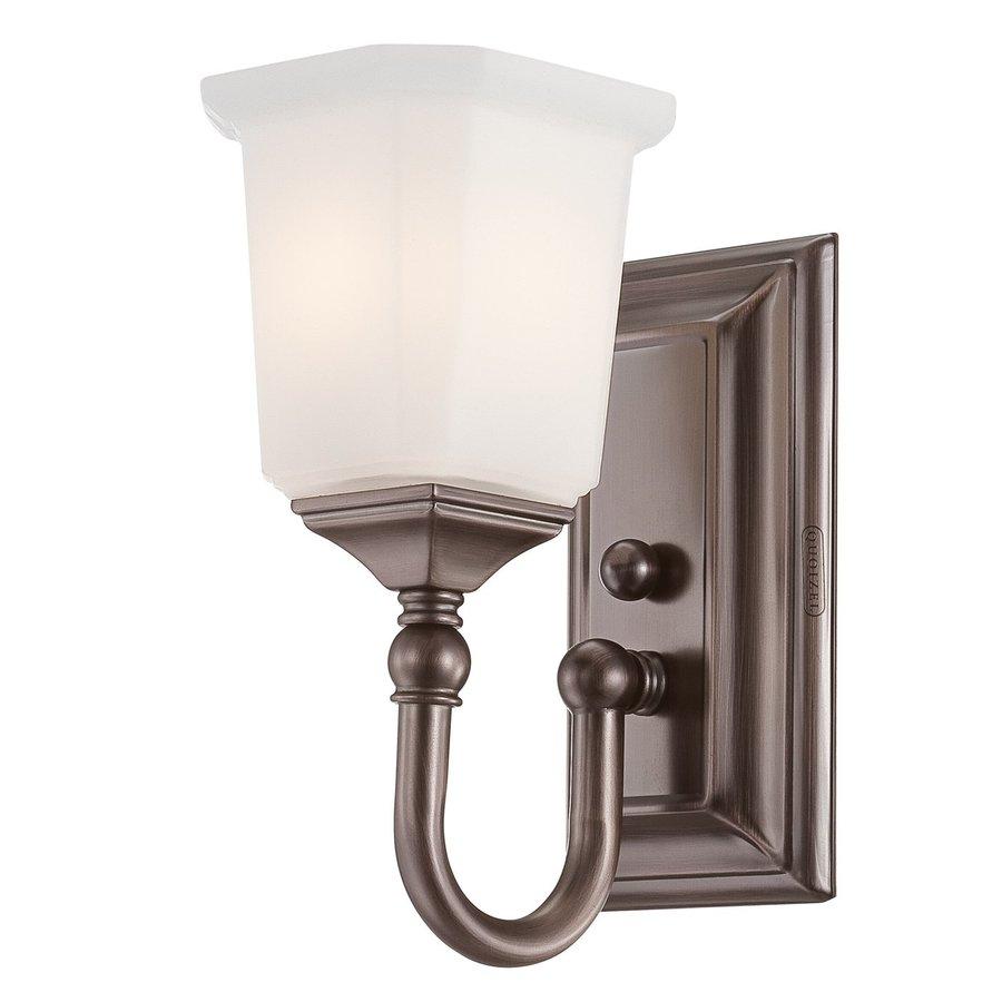 Quoizel Nicholas 1-Light Bronze Square Vanity Light