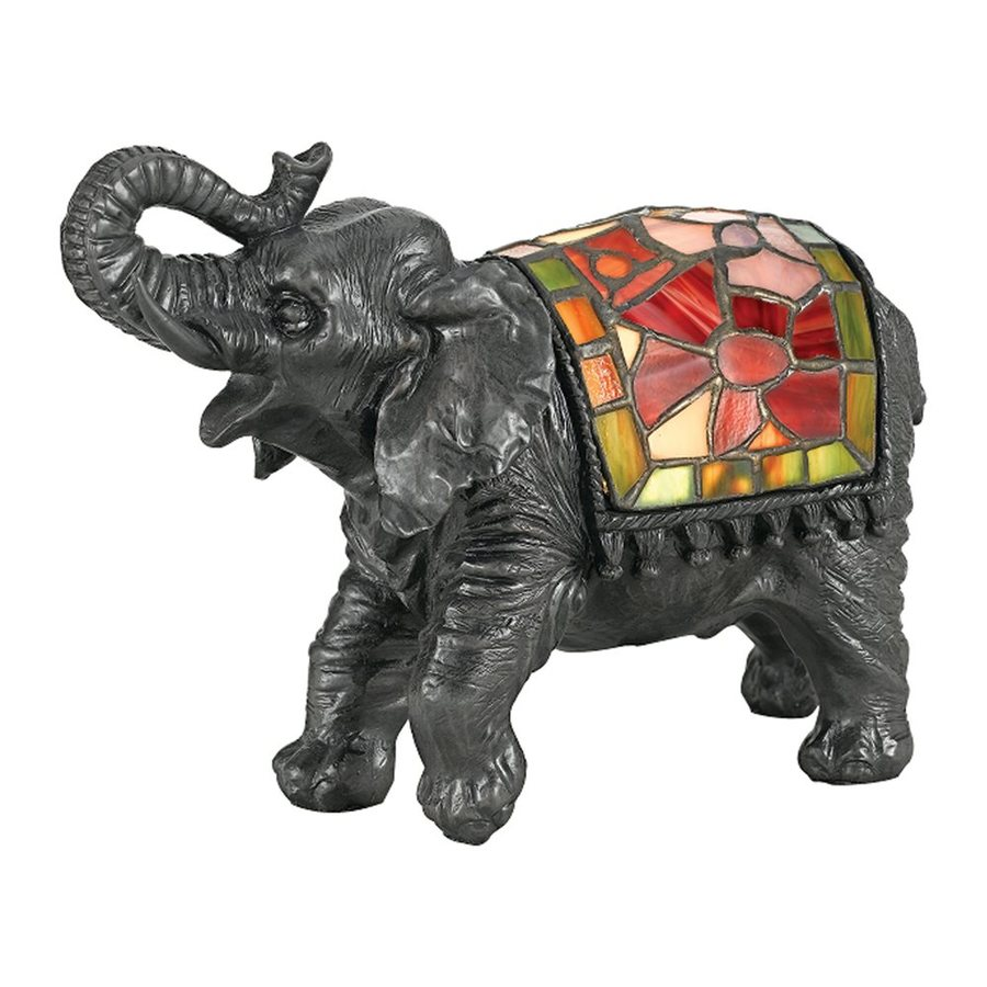 Quoizel 6.5-in Elephant Light