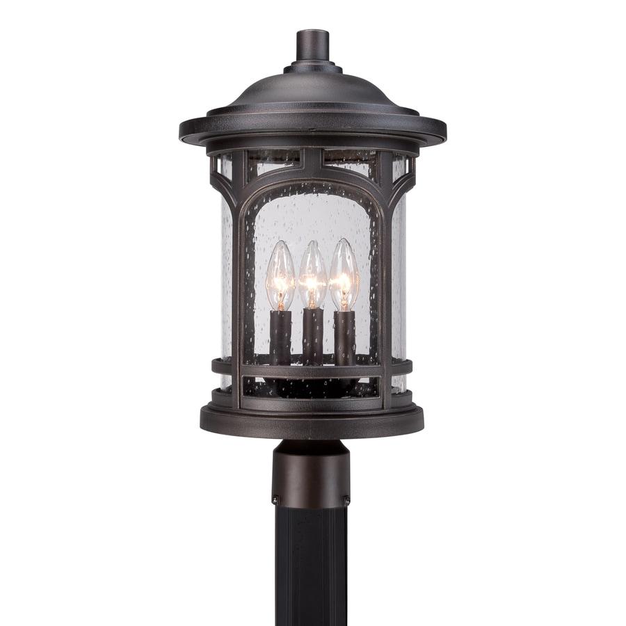 Quoizel Marblehead 19.5-in H Palladian Bronze Post Light