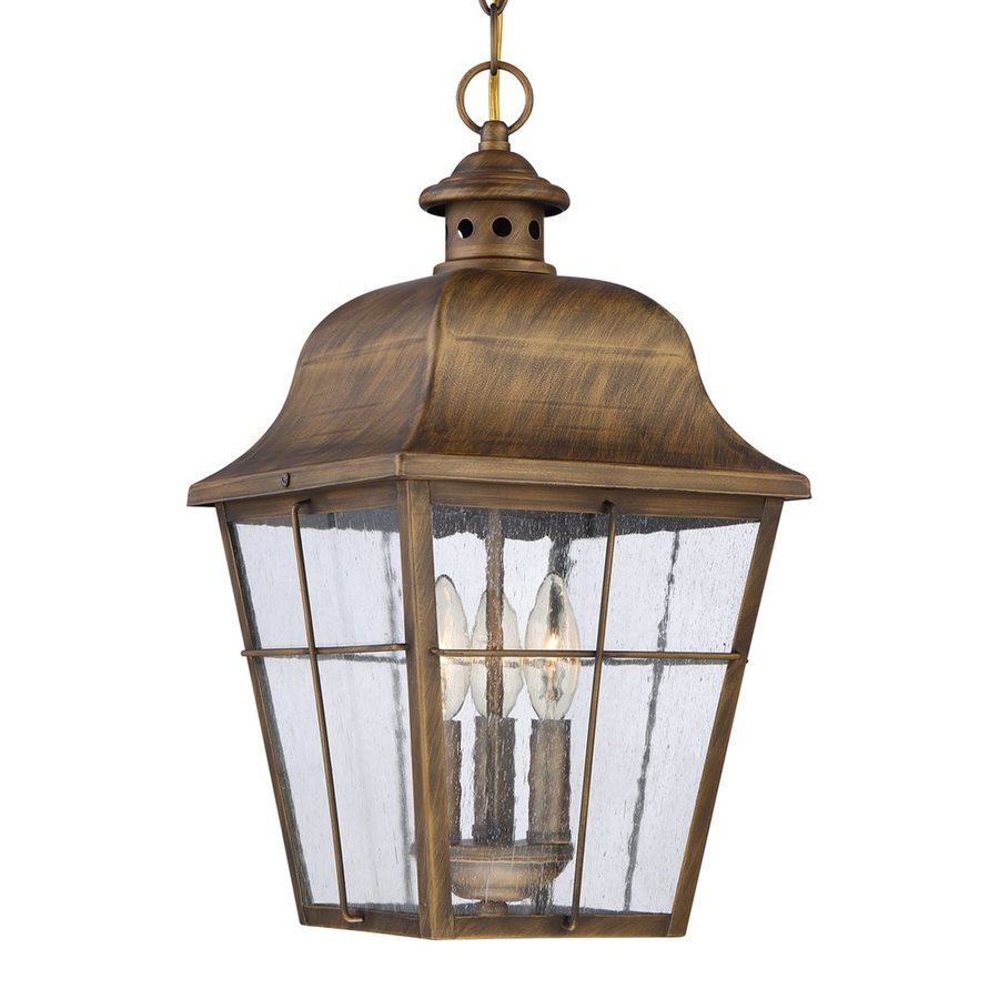 Quoizel Millhouse 19-in Veneto Outdoor Pendant Light
