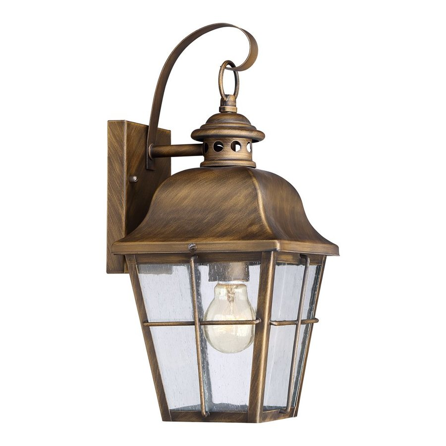 Quoizel Millhouse 15.5-in H Veneto Outdoor Wall Light