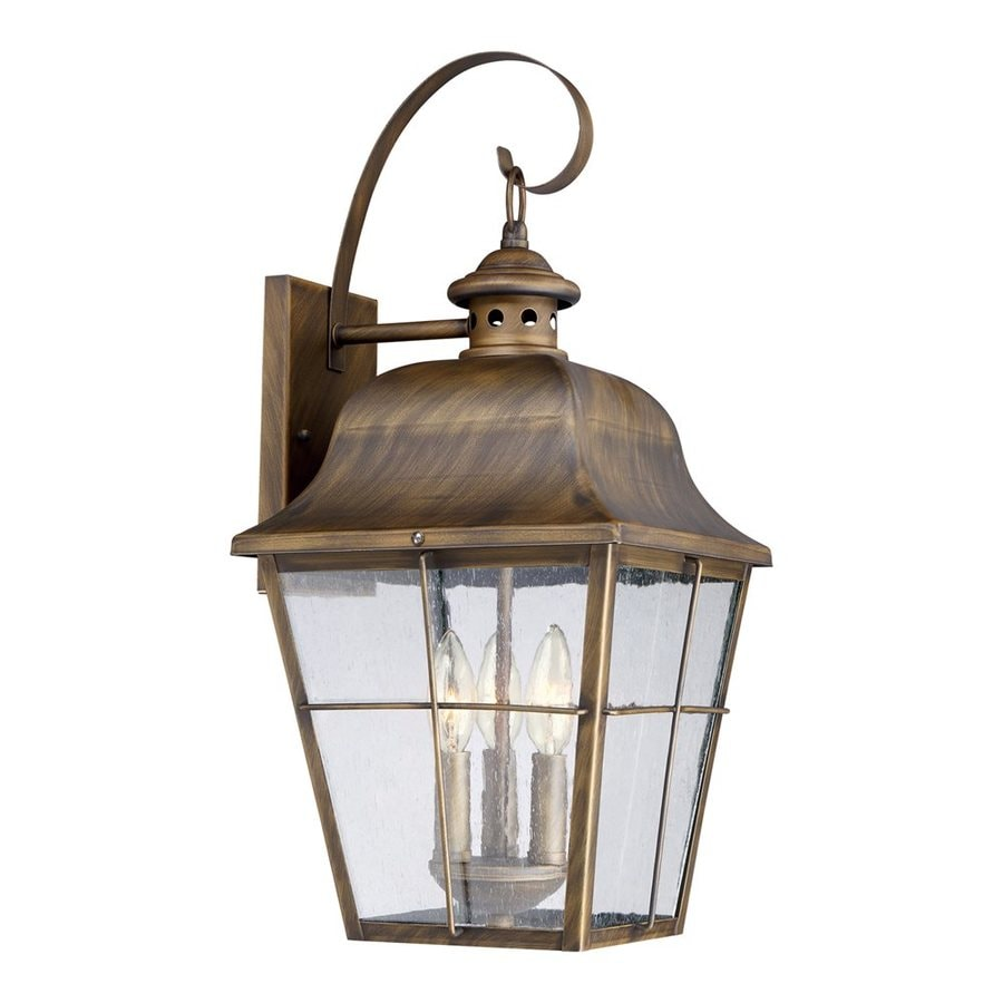 Quoizel Millhouse 22-in H Veneto Outdoor Wall Light