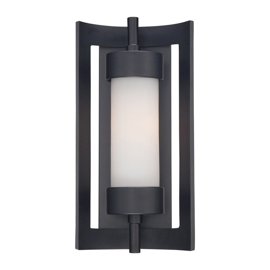 Quoizel Milan 14-in H Mystic Black Outdoor Wall Light