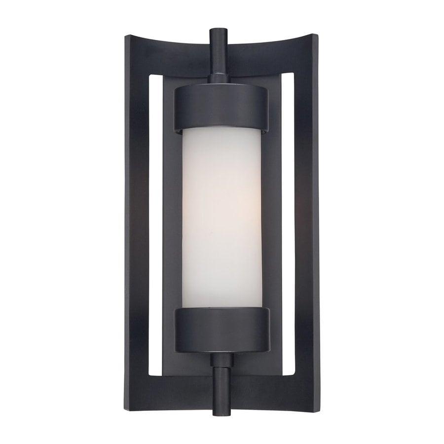 Quoizel Milan 14-in H Mystic Black Outdoor Wall Light