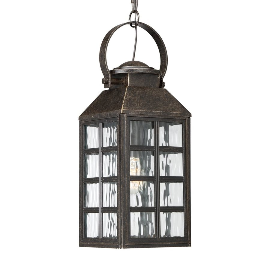 Quoizel Miles 20-in Imperial Bronze Outdoor Pendant Light