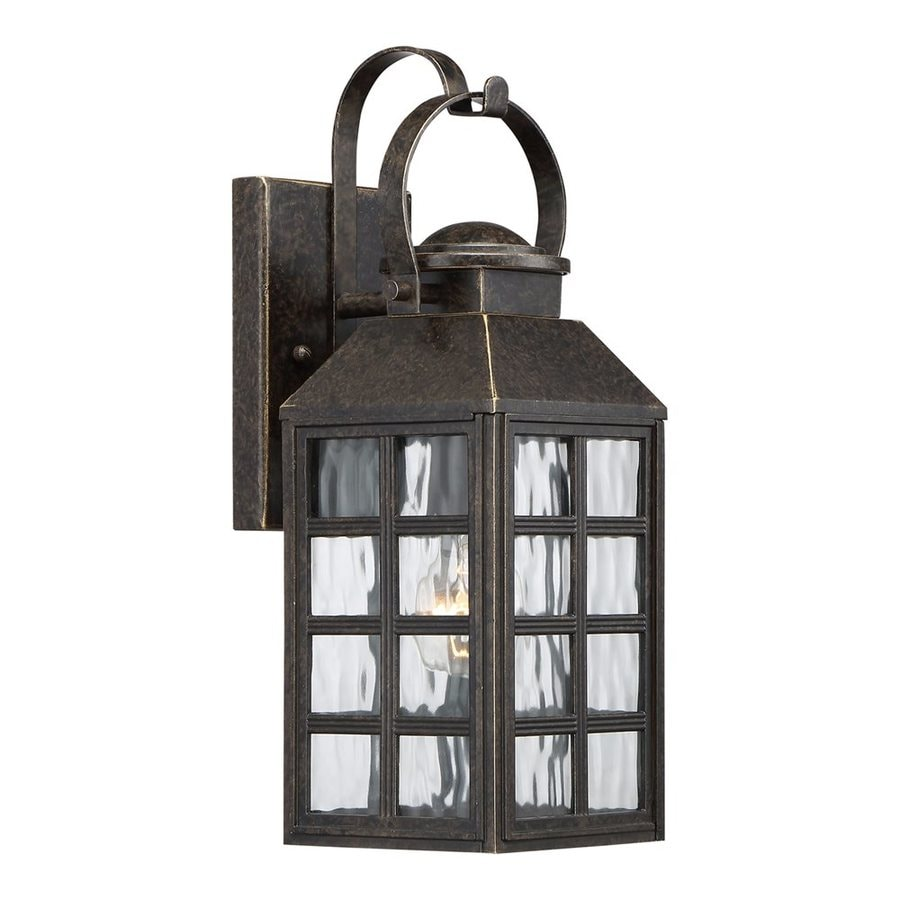Quoizel Miles 16.25-in H Imperial Bronze Outdoor Wall Light