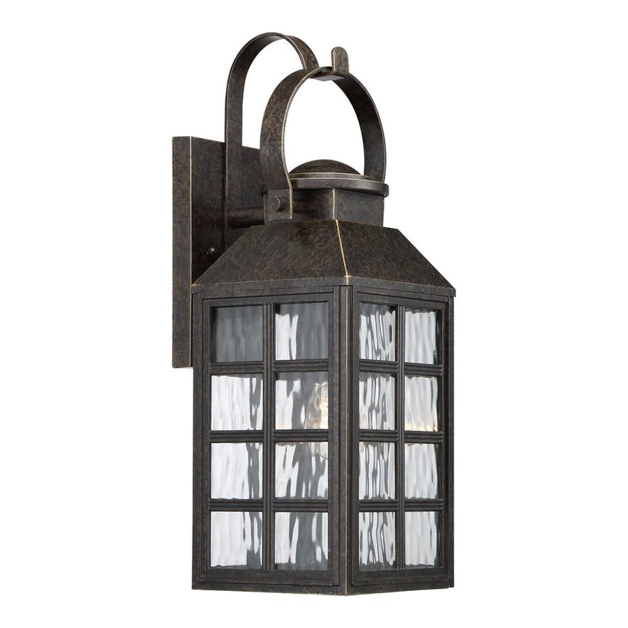 Quoizel Miles 21.5-in H Imperial Bronze Outdoor Wall Light