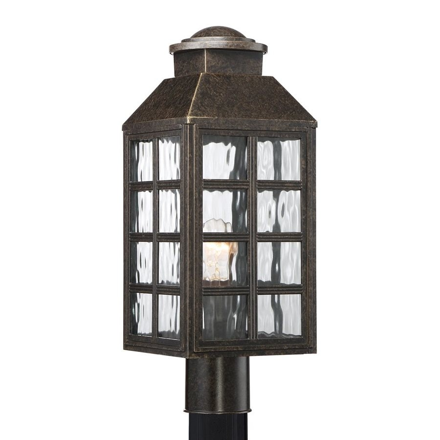 Quoizel Miles 19.25-in H Imperial Bronze Post Light