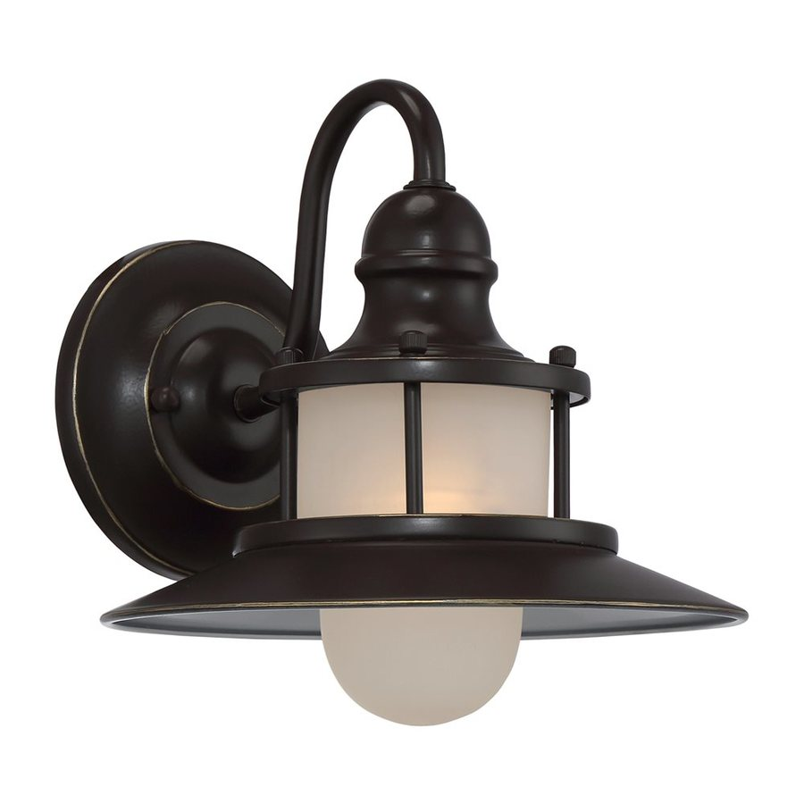 Quoizel New England 9.5-in H Palladian Bronze Outdoor Wall Light