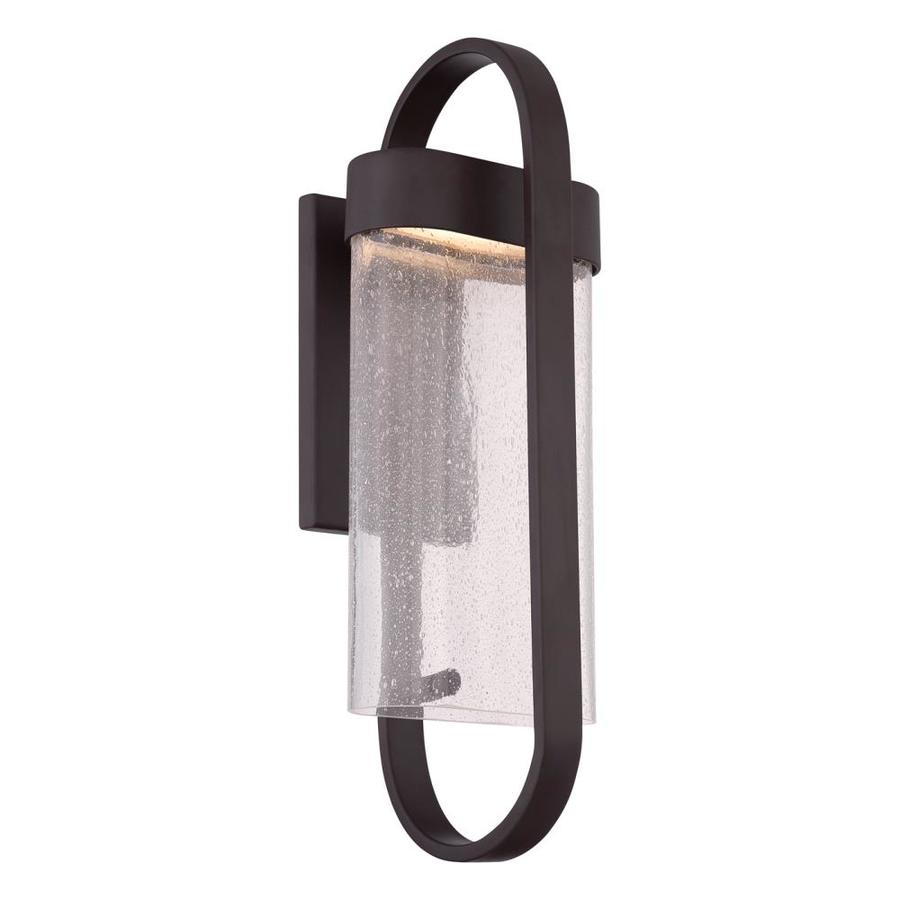 Quoizel Alto 20-in H Led Western Bronze Outdoor Wall Light
