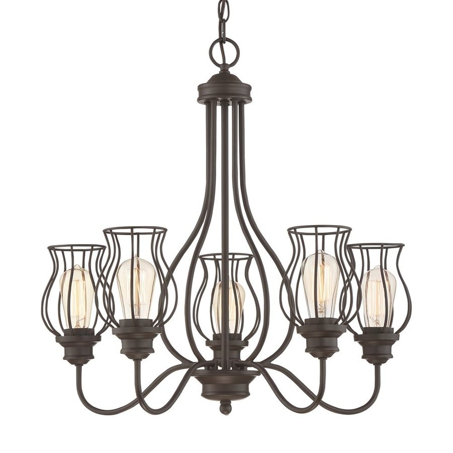 Shop Quoizel Baroness 25 In 5 Light Western Bronze Cage