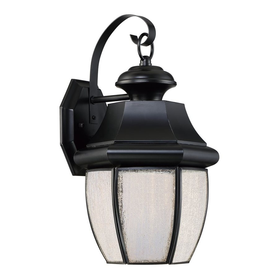 Quoizel Newbury Led 13.5-in H Led Mystic Black Outdoor Wall Light