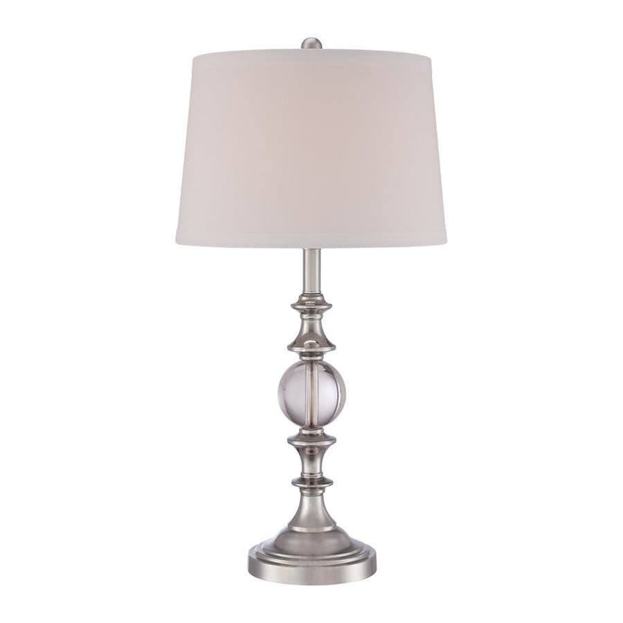 of walmart hampton lamps contemporary lighting base column and table brushed home nickel lamp match bay set mix classic depot tall