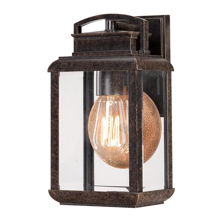 Quoizel Byron 11.75-in H Imperial Bronze Outdoor Wall Light