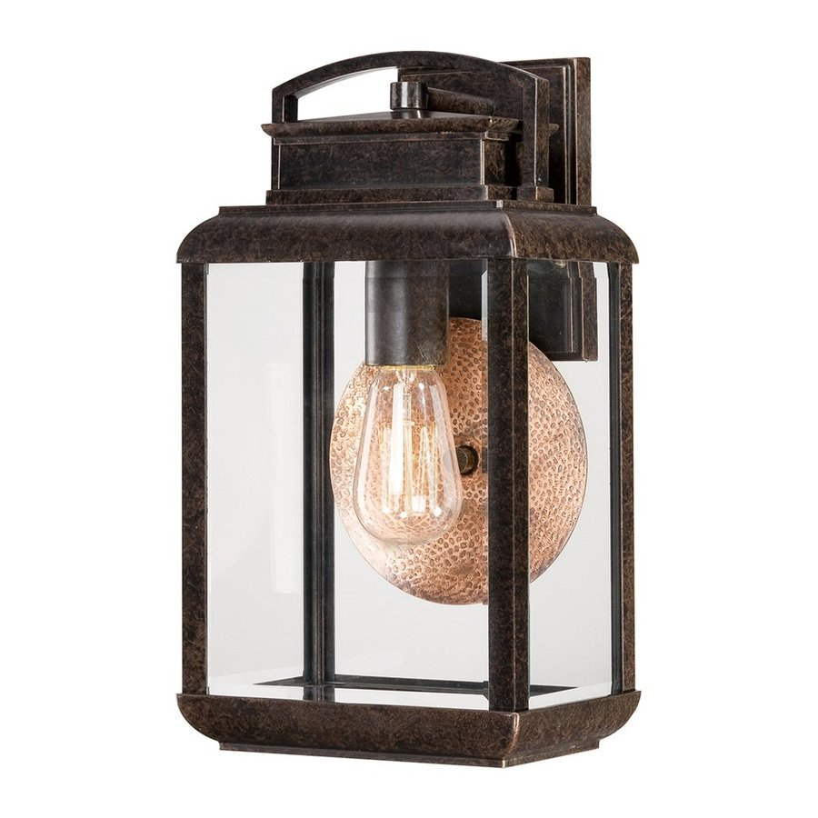 Quoizel Byron 14.5-in H Imperial Bronze Outdoor Wall Light