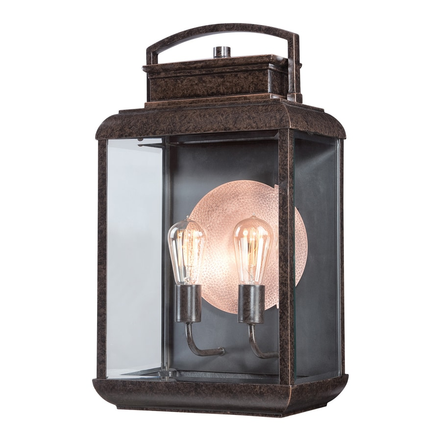 Quoizel Byron 21.5-in H Imperial Bronze Medium Base (E26) Outdoor Wall Light