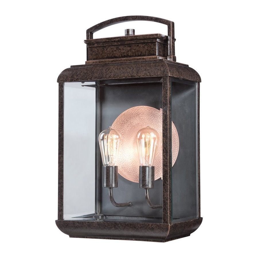 Quoizel Byron 21.5-in H Imperial Bronze Outdoor Wall Light