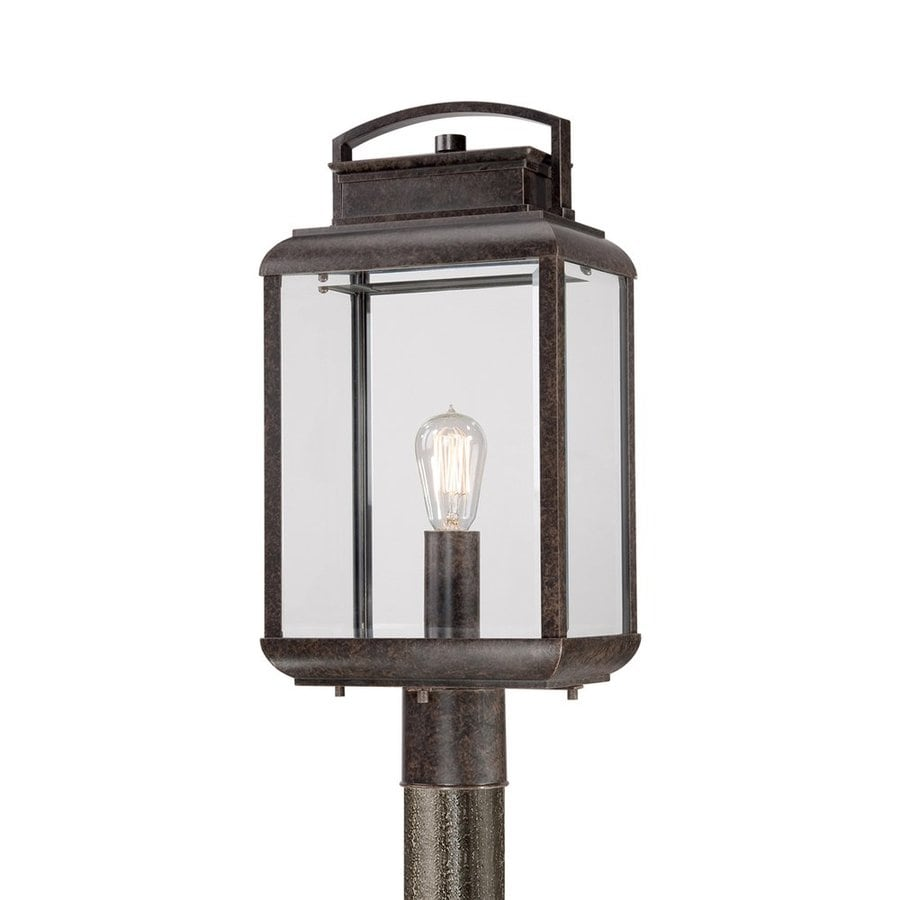 Quoizel Byron 21-in H Imperial Bronze Post Light