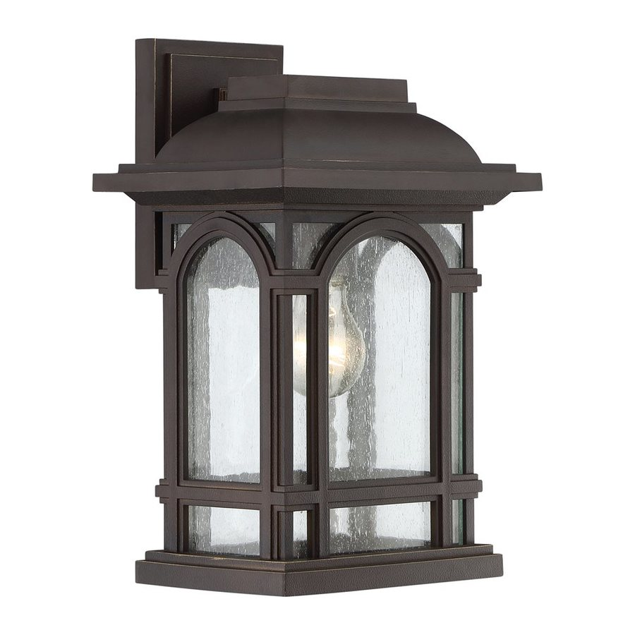 Quoizel Cathedral 13.5-in H Palladian Bronze Outdoor Wall Light