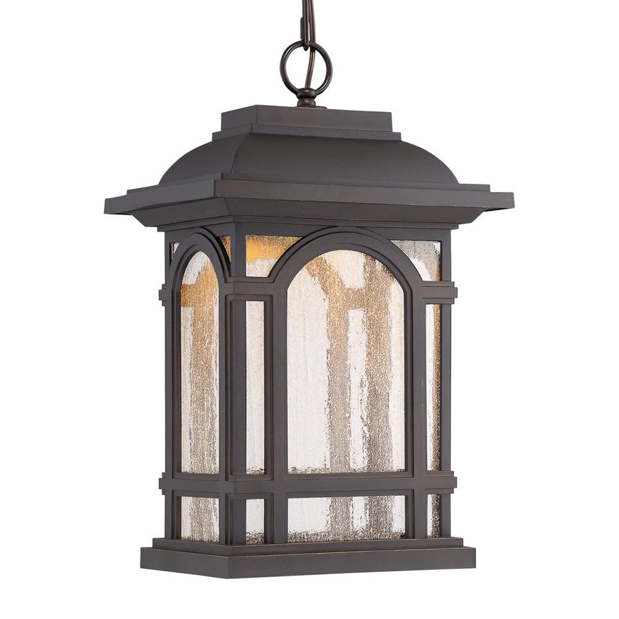 Shop Quoizel Cathedral 18.25-in Palladian Bronze Outdoor ...