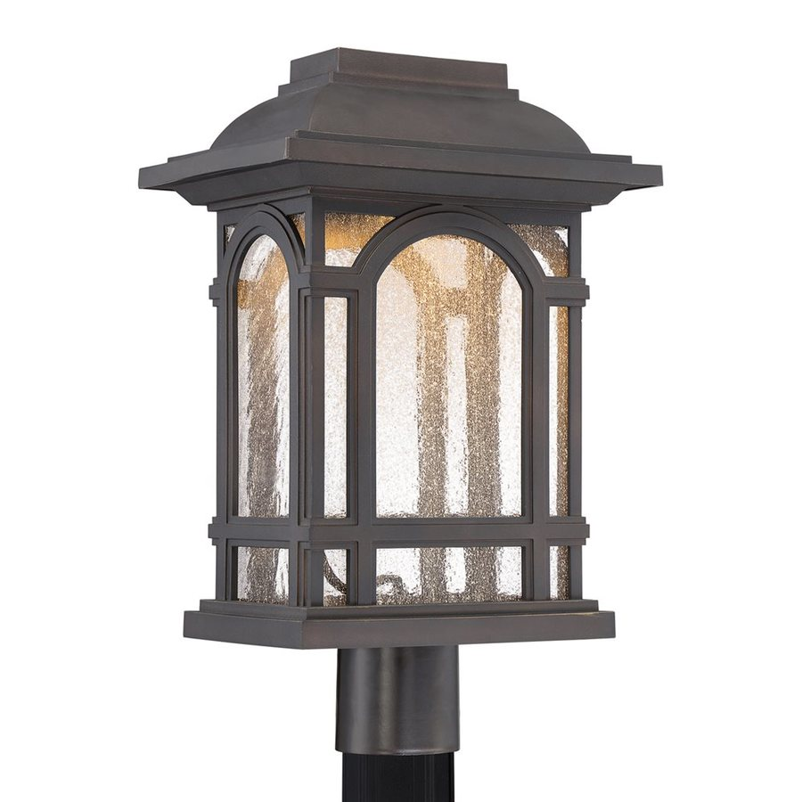 Quoizel Cathedral 18.75-in H Palladian Bronze LED Post Light