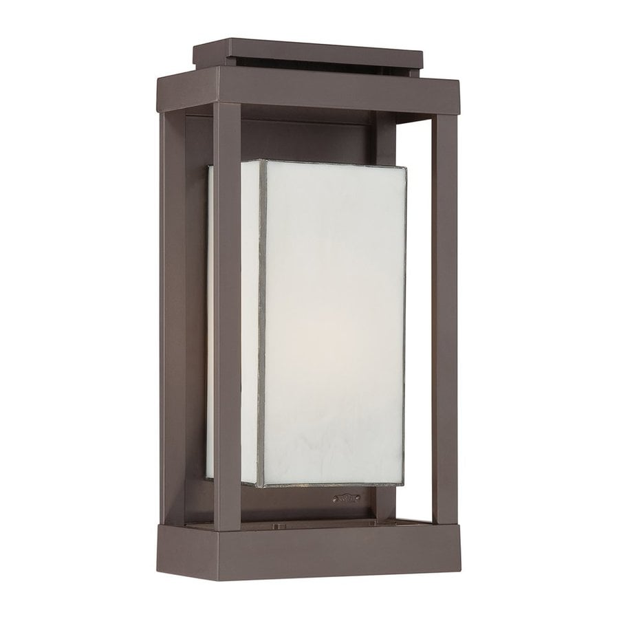 Quoizel Powell 17-in H Western Bronze Outdoor Wall Light