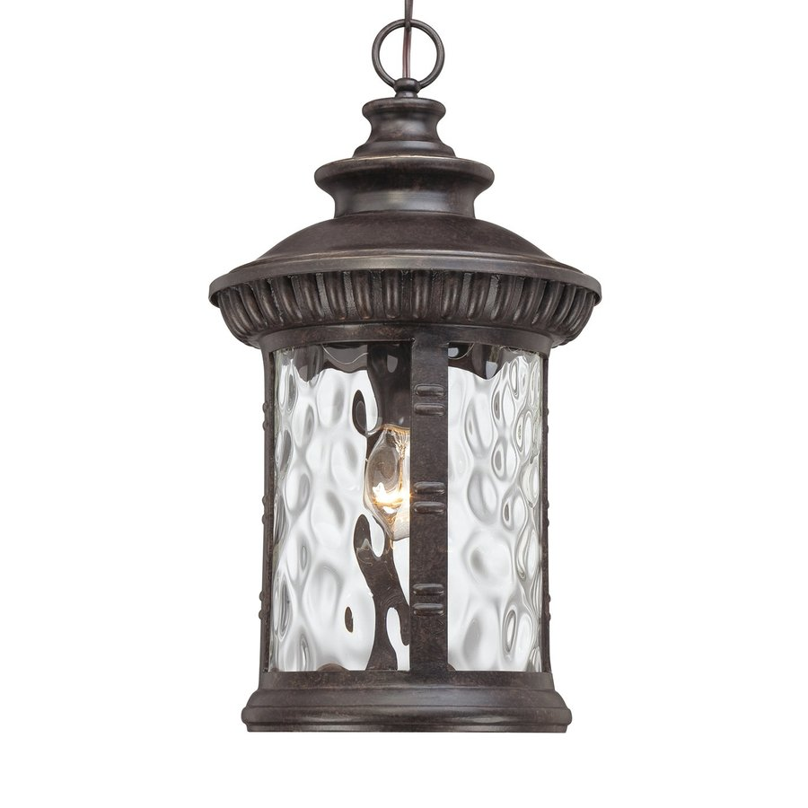 Quoizel Chimera 19-in Imperial Bronze Outdoor Pendant Light