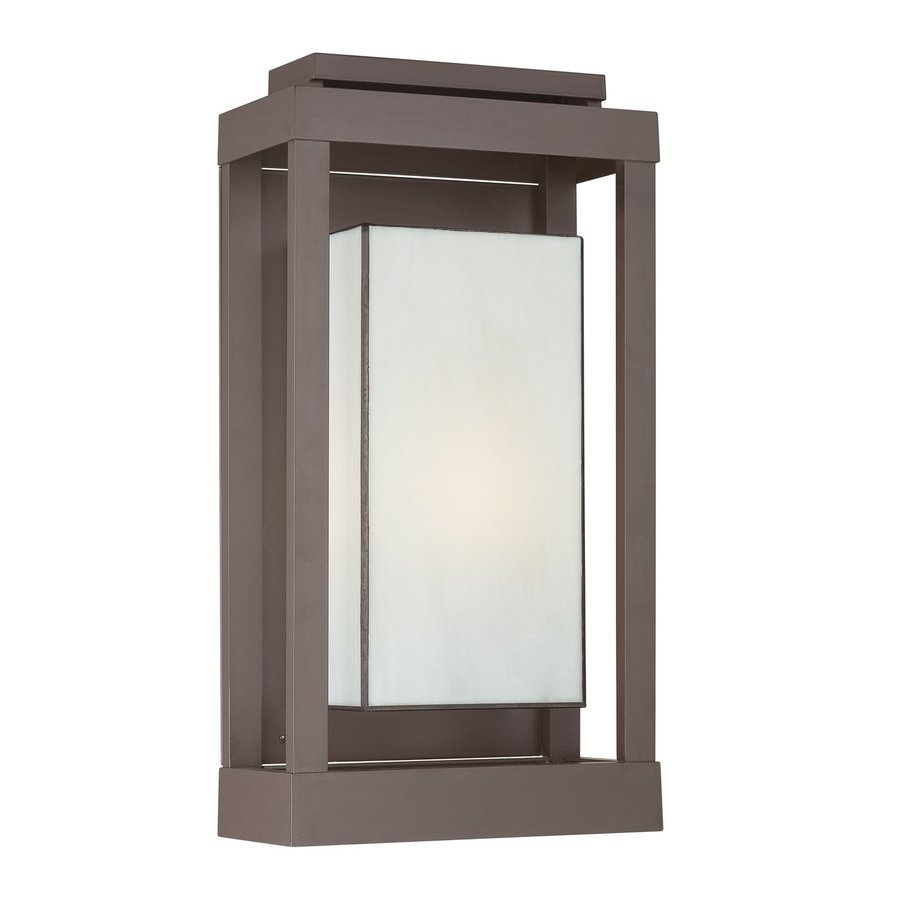 Quoizel Powell 20.5-in H Western Bronze Outdoor Wall Light